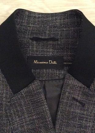 Элегантный пиджак massimo dutti