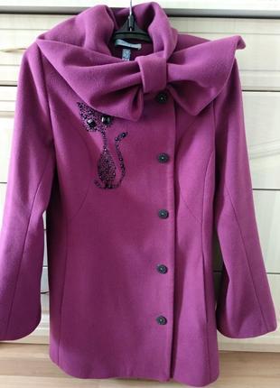 Красивое и интересное пальто