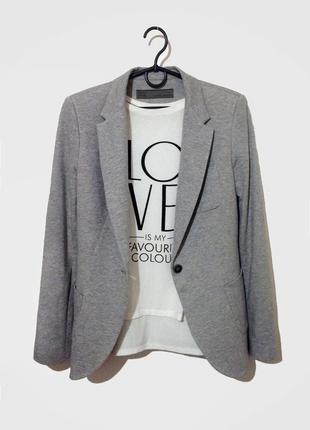 Шикарный удлиненный пиджак от zara