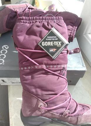 Зимние сапоги ecco gore-tex размер 352