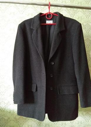 Теплый шерстяной пиджак! р. m-l