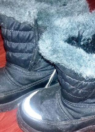 Сапоги детские зимние от фирмы mounty