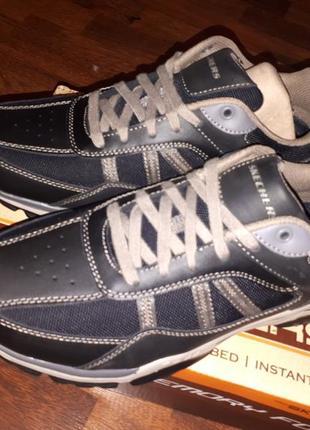 Осенние брендовые кроссовки skechers со стелькой мемори 42.5