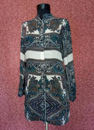 Платье рубашка актуальной расцветки