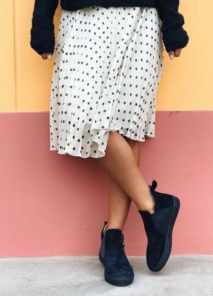 Замшевые ботинки челси lapti