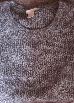 Фирменный свитер h&m  размер m-l