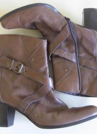 Ботильоны ботинки кожаные демисезон стильные