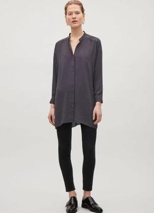 Удлиненная рубашка туника cos