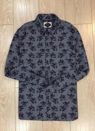 Рубашка в принт цветы new look