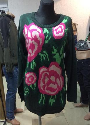 Вязане плаття оверсайз від lamania