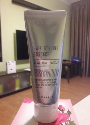 Эссенция для укладки волос missha prowave hair styling essence natural wave