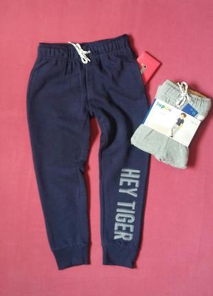 Спортивные теплые штаны на мальчика 110/116 см