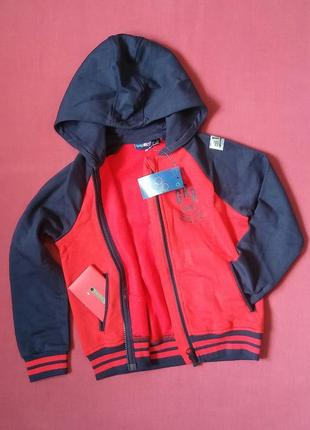 Куртка спортивная на мальчика 110/116 см