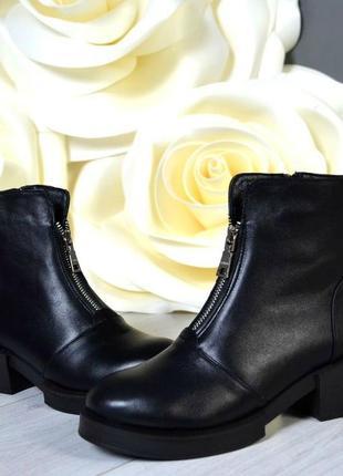 36-41 рр деми/зима ботинки, ботильоны натуральная кожа, замша цвета в ассортименте