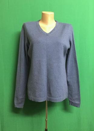 Кашемировый пуловер blue motion