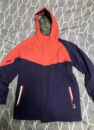 Лыжная/демисезонная курточка nitro