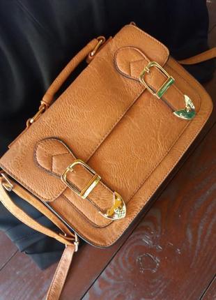 Стильная новая сумка  саквояж от atmosphere