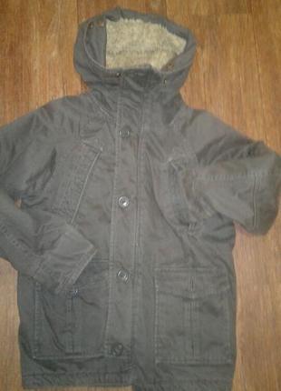 Стильная парка-куртка debenhams на 140 лет