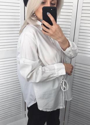Стильна сорочка з декоративною корсетною шнуровкою5