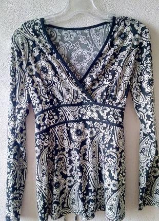 Блуза на длинный рукав