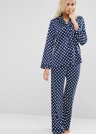 Атласная пижама, шелк. новая. размер xs/s/m