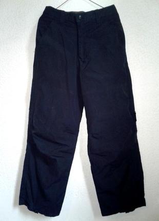 Двухсторонние штаны-полукомбинезон зимние. размер с