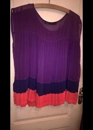 Очень красивая яркая блуза next , состояние новой