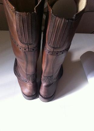 Сапоги коричневые vero cuoio