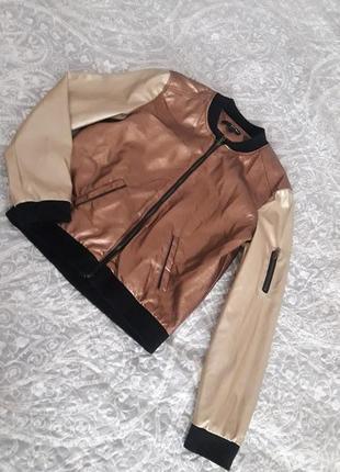 Стильная куртка леттерман tally weijl