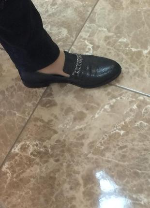 Туфли кожа фирменные