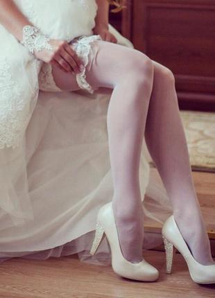"""Свадебные туфли от известного бренда """"eva rossi"""""""