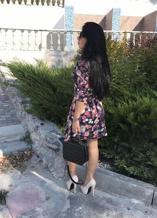 Очень красивое платье-халат, размер m-l5 фото