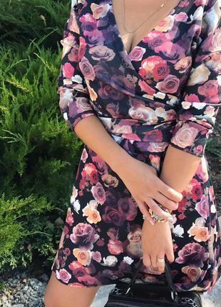 Очень красивое платье-халат, размер m-l