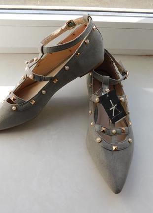 Балетки/туфли/босоножки на низком ходу atmosphere