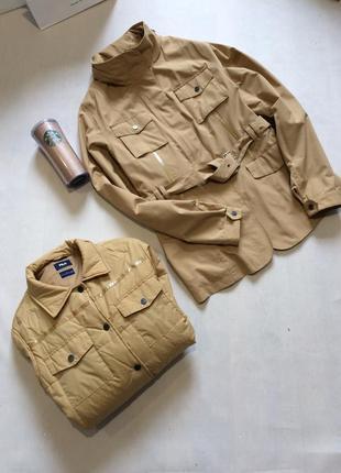 Шикарнейшая куртка 2 в 1 fila ветровка и теплая куртка