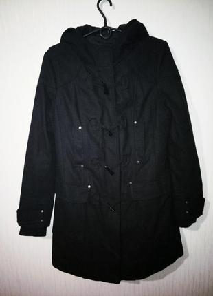 Стильное тедлое пальто дафлкот