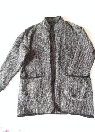 Кардиган. пальто. шерсть.