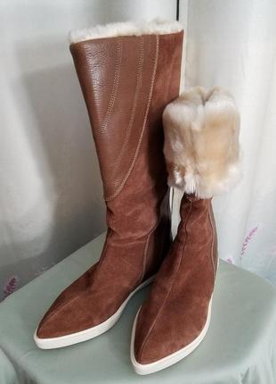 Шкіряні чоботи з сша