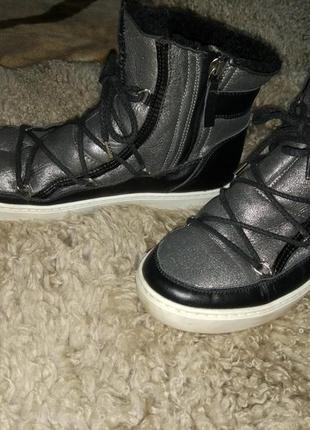 Фирменные шикарные луноходы уги сапоги moon boot