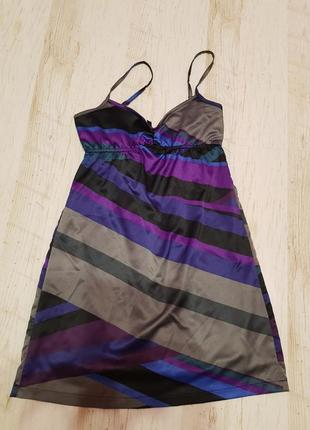 Мини платье bershka