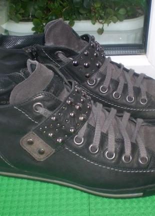 Женские ботинки paul green ( австрия) р.7 (40-41),стелька 26.5 см