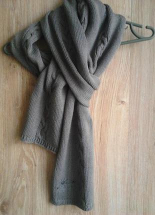 Симпатичный теплый шарф,pieces accessories
