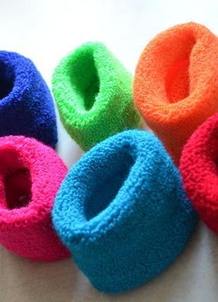 Польские резинки для волос, набор резинок, бублики, пончики, разноцветные резинки