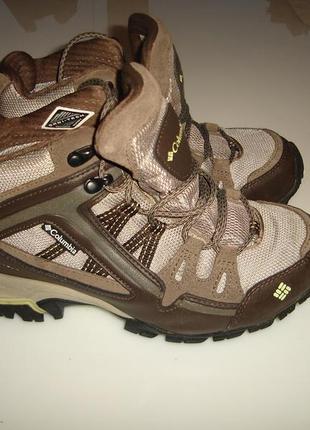 Columbia omni-tech треккинговые ботинки коламбия, унисекс, р 37, стелька 23,5 см, оригинал