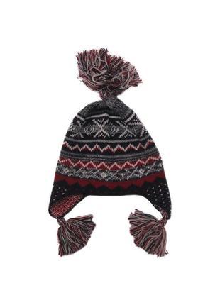 Новая вязаная шапка с узором, united colors of benetton, 90174