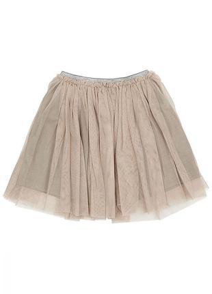 Новая фатинова серая юбка, united colors of benetton, 140599