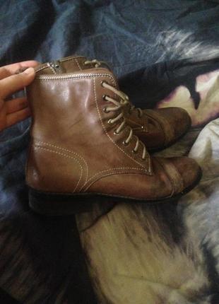 Ботинки натуральная кожа осень