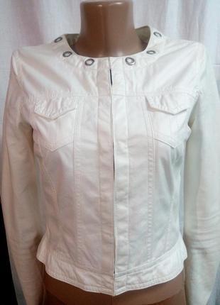 "Куртка ""под кожу"" от takko fashion размер xs"