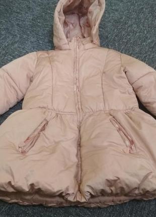 Куртка mexx для девочки пудра р. 116