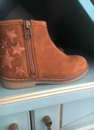Ботинки на осень next кожа